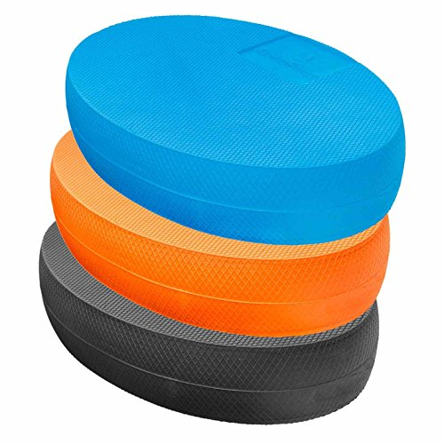 #DoYourFitness® Balance-Board - ca. 28 x 17 x 6cm | Gewicht 125g - gelenkschondendes Ganzkörpertraining aus Schaumstoff : Balance-Pad, Koordinationsmatte, Balance-Kissen, Balancetrainer »Ovado« blau