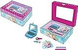 Schmuckkästchen / Schatulle / Box mit Frozen Motiv, Klammern, Haargummis in blau