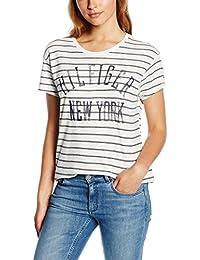 Tommy Hilfiger Thdw CN T-Shirt S/S 14, Camisa de Pijama para Mujer