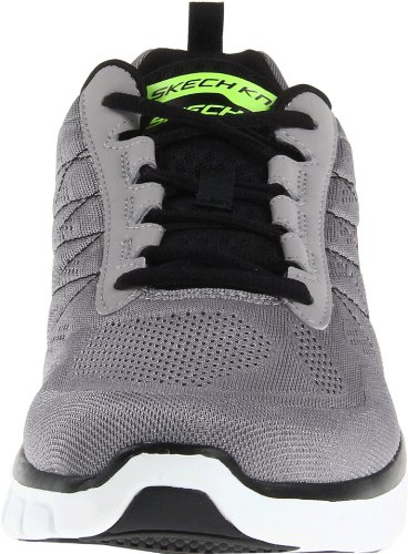 Skechers Synergy Power Switch Herren Sneakers Grau (LGBK)