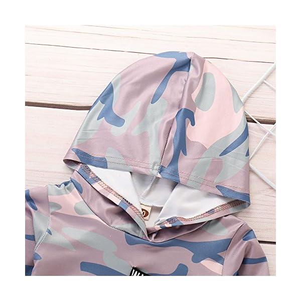 Trisee Ropa Bebe Niño otoño Invierno Trajes de Recién Nacido Camuflaje Manga Larga Camisetas + Pantalones Conjuntos de… 4
