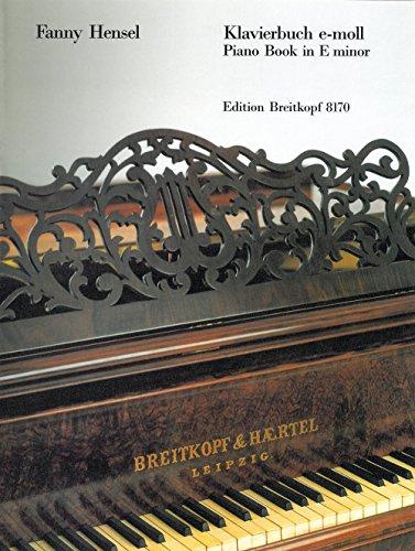 Klavierbuch E-Moll Piano
