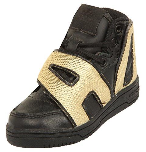 adidas Jeremy Scott Kids Sneakers JS LETTER GOLD I Schwarz/Gold M18991, size:20