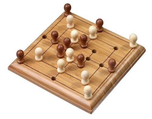 Philos 6491 - Mühle, Bambus, Green Games, Reisespiel, Strategiespiel