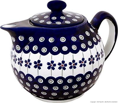 Boleslawiec Pottery Théière 1 L de Boleslawiec Motif 166a