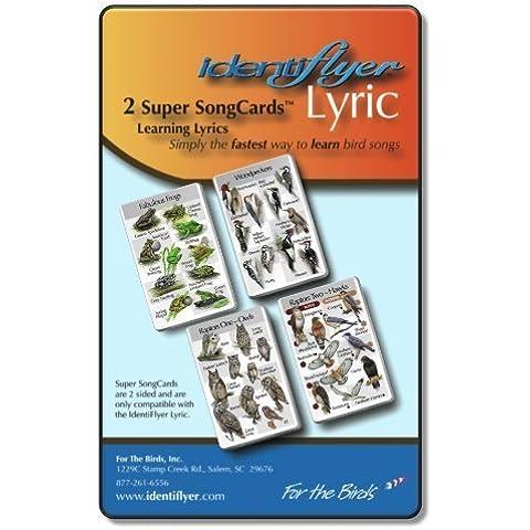 Identiflyer Lyric 2 Super Song Cards by Identiflyer