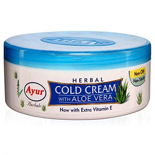 Ayur Aloe (Unisex-Herbal Cold Cream mit Aloe Vera Extra Vitamin E 200ml)