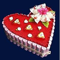 Pralinen Torte, Muttertag, Geschenk zum Geburtstag,Torte aus Schokolade, Hochzeit, Herz Torte, Hochzeitstorte