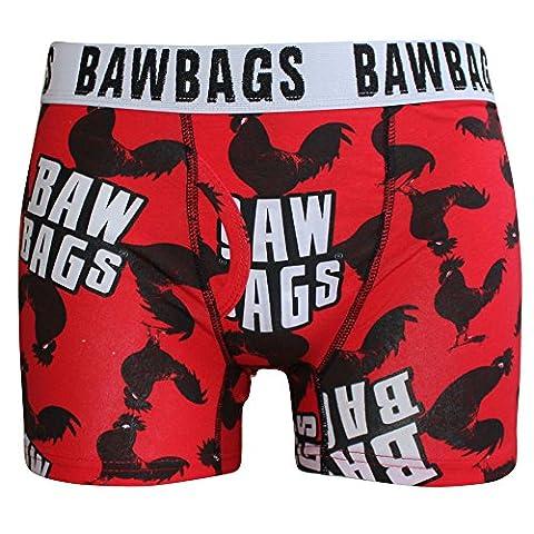 Bawbags Boxers - Bawbags Cockerel Boxers - Red