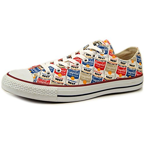 Converse Chuck Taylor All Star Low Ox - Warhol Converse White/Casino/Vision Blue