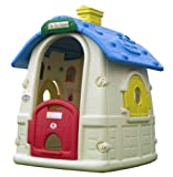 Spielhaus mit Falttüren und Fernstern für Kinder ab 2 Jahren Toy House