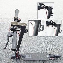 juman634 Gancho Multifuncional Xiaomi M365 Gancho Delantero Scooter eléctrico Gancho de suspensión Kit de Montaje Pieza de Repuesto
