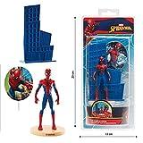 Dekora Spiderman-Kuchen-Set, PVC, mehrfarbig (1)