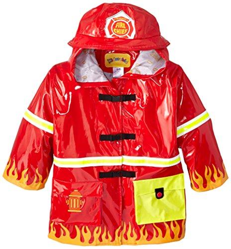 Kidorable Originale di Marca Cappotto Di Pioggia Pompiere Adorabile per bambini, ragazze, ragazzi
