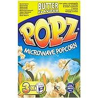 Popz Microondas palomitas de mantequilla 3 x 90g