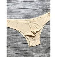 fdfgvdf Herren Sexy Solid Slip Unterwäsche, Nylon Spandex
