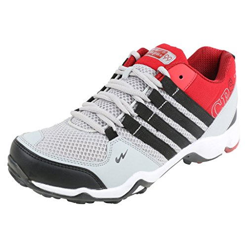 Campus Men's Grey Rust Series Synthetic Sports Shoes 8 UK