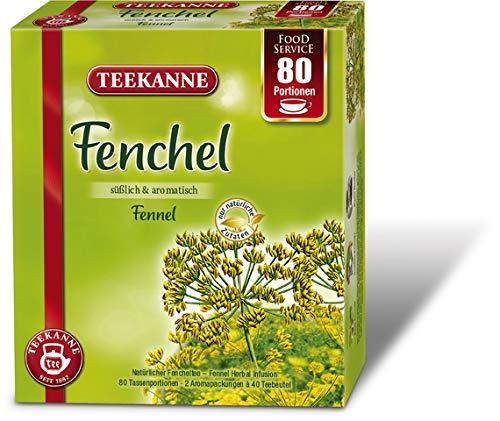 TEEKANNE Kräutertee Fenchel, Beutel, 2 x 40 Beutel à 2,5 g (80 Stück), Sie erhalten 1 Packung á 80 Stück
