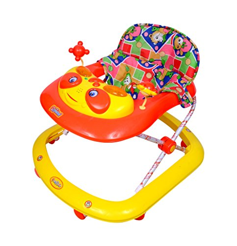 Ehomekart Multicolour Kid's Musical Crystal Activity Walker 9 Months + Baby - Wide Base