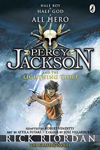 Percy Jackson and the Lightning Thief: The Graphic Novel (Book 1) (Percy Jackson Graphic Novels) by Rick Riordan (2010-11-04)