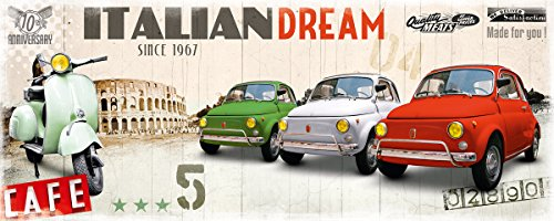 eco-chic-bild-auf-holz-italian-dream-vespa-und-fiat-500-im-holzdruck-grosse-50-x-125-cm