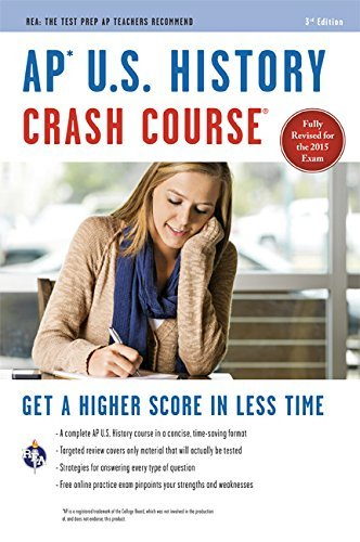 AP U.S. History Crash Course: Book + Online (Advanced Placement (AP) Crash Course) by Larry Krieger (12-Feb-2015) Paperback