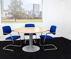 nova runder besprechungstisch esstisch k chentisch tisch buche rund 120 cm k che. Black Bedroom Furniture Sets. Home Design Ideas