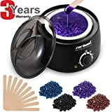 Wax Heater Hair Removal Kit - Professional Depilatory Wax Warmer Electric, Include 4
