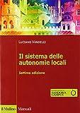 Il sistema delle autonomie locali. Con espansione online