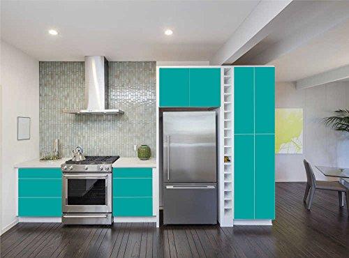 INDIGOS UG   Aufkleber Für Küchenschränke 63x500cm   MATT   Folie Aus  Hochwertigem PVC Tapeten Küche