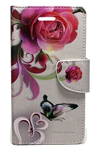 Sharp Icon Fancy Printed Designer Leather Flip Wallet Back Cover Case for Lenovo K4 Note