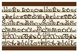 I-love-Wandtattoo Selbstklebende Bordüre Küche Borte Küchenutensilien Wanddeko
