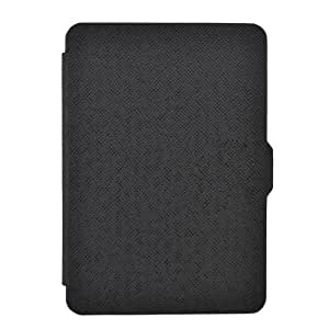 Armel NEW CROSS PATTERN MAGNETIC CASE COVER FOR NEW AMAZON KINDLE PAPERWHITE SLEEP WAKE MODE Function + Stylus Pen + Screen Protector