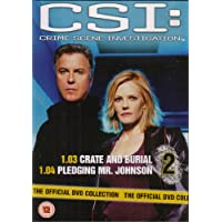 CSI Crime Scene Investigation - Official DVD Collection - Crate and Burial & ...
