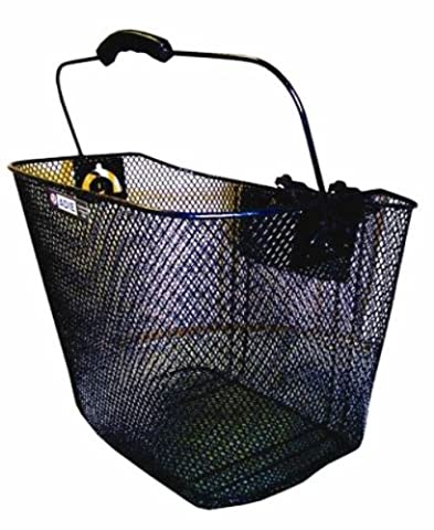 Front Mesh Wire Basket With Quick Release