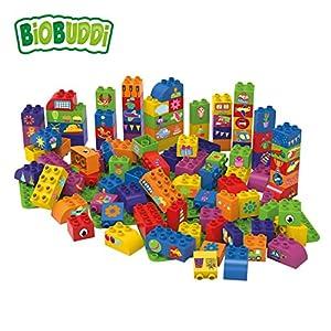 BiOBUDDi Learning to Create 100 pcs 100pieza(s) - Bloques de construcción de Juguete, 100 Pieza(s), Imagen, Niño, Niño/niña, 1,5 año(s)