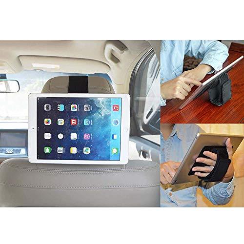 iPad auto-kopfstützenhalterung, tablet handschlaufe, Ständer für allen iPads (3-in-1)