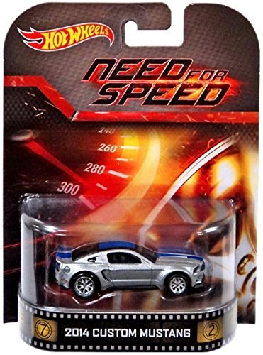 2014 Custom Mustang Need For Speed Hot Wheels 2014 Retro Series Die Cast Vehicle by Hot Wheels