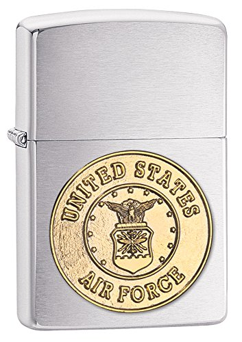 Zippo Air Force Crest Emblem Pocket Lighter [Sports] (Emblem Force, Air)