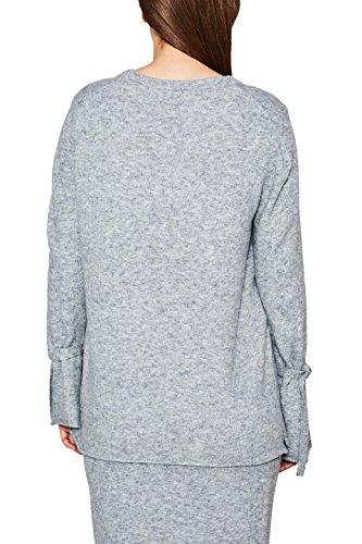 ESPRIT Damen Pullover Grau (Light Grey 5 044)
