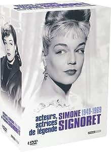 Coffret Simone Signoret 4 DVD / 1949/1969 : Manèges / Casque d'or / Thérèse Raquin / L'Armée des ombres