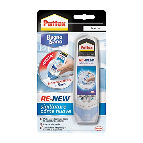 Pattex 2045061 bain sain Renew, blanc