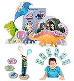 Lello and Monkey Dinosaurios Juegos de la Fiesta - Conjunto de 3 para los Niños