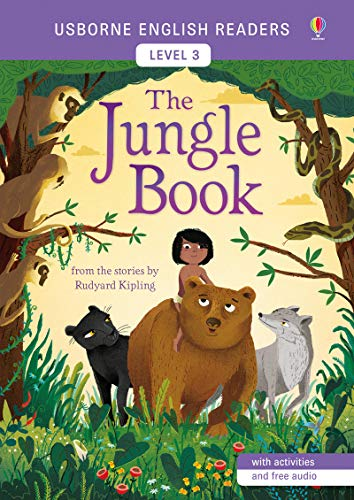 The jungle book. Ediz. illustrata (Usborne English Readers) por Mairi MacKinnon
