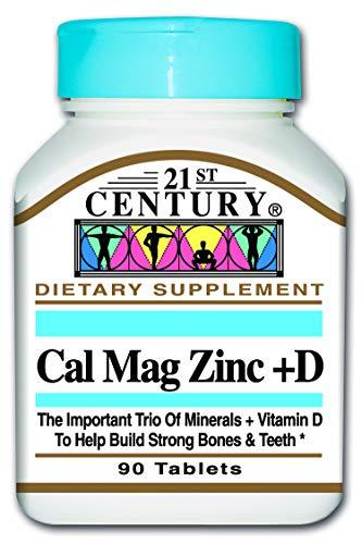 21st Century Cal Mag Zinc + Vitamine D -