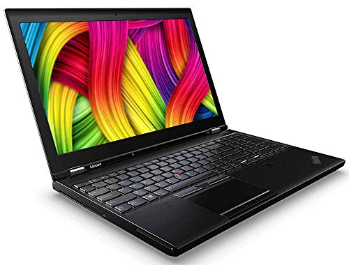 Lenovo ThinkPad P50 | Intel i7 | 4 x 2.7 GHz | 16 GB | 512 GB SSD | 3840x2160 IPS | 15.6 Zoll | Web Cam | Windows 10 | (Zertifiziert und Generalüberholt) (Thinkpad I7 16gb)