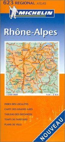 Atlas routiers : Rhône-Alpes, N°20623