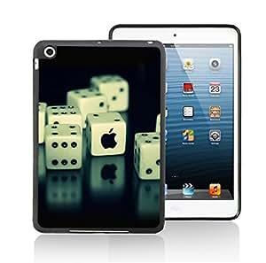 Case Schutzrahmen hülse Iphone Emblem Apfel Logo IP04 Abdeckung für Ipad mini1/Ipad mini2 Border Gummi Silikon Tasche Schwarz