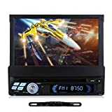 7' 1 DIN Android 5.1 Autoradio DVD Player RNS NAVISKAUTO Navi Navigation GPS CD Radio Quad Core Touchscreen Rückfahrkamera RQ0110E+Y0812