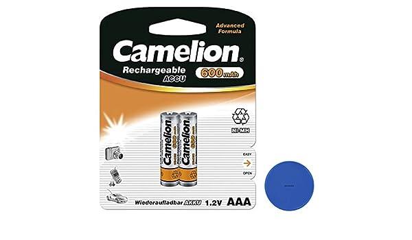 Akkus Camelion Aaa Micro 900 Mah Akku Aufladbar Für Telekom Siemenstelefon 4 Stück Akkus & Batterien